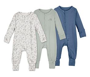 3 kisgyerek pizsama