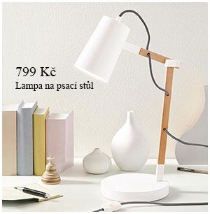 Lampa na psací stůl