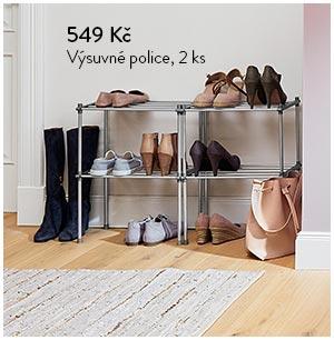 Výsuvné police