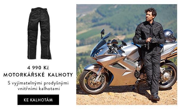 Pánské motorkářské kalhoty