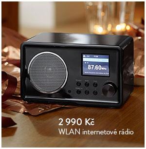WLAN internetové rádio