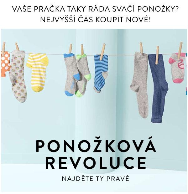 Taky Vaše pračka svačí ponožky? Kupte jí nové!