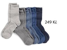 Pánské ponožky, 5 párů