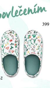 Papuče bílé