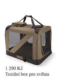 Textilní box pro zvířata