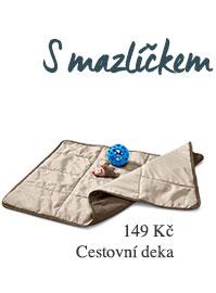 Cestovní deka pro psy