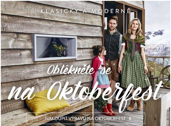 Oblékněte se na Oktoberfest