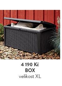 Box na polštáře, velikost XL
