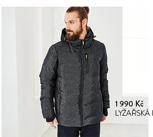 Lyžařská prošívaná bunda