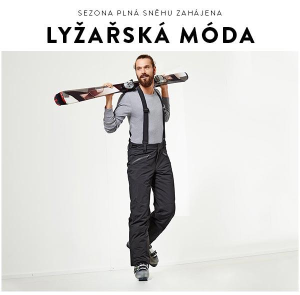 Outfity na lyže pro muže a ženy