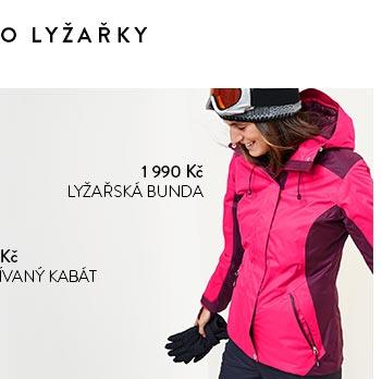 Lyžařská bunda růžová