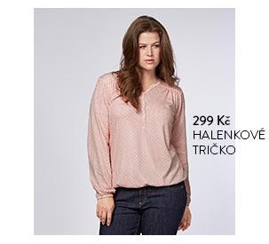 Halenkové tričko růžové