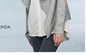 Pletený blejzr dámský šedý