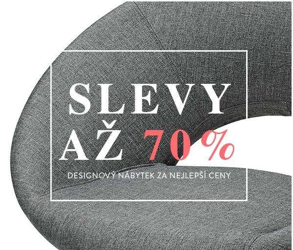 Až 70 % na kolekci nábytku