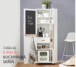 Kuchyňská skříň bílá