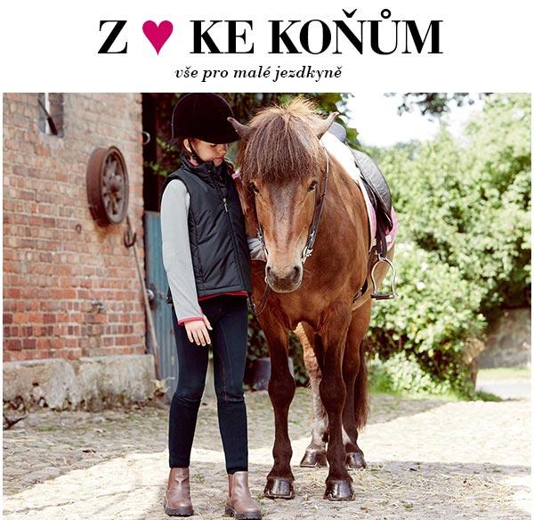 Z ♥ ke koňům: kolekce pro malé jezdkyně