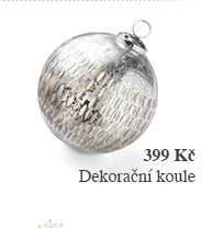 Dekorační koule