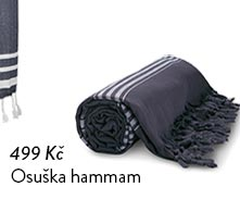 Osuška hammam XL