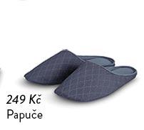 Papuče šedé