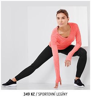 Sportovní legíny >>Dry Active Plus<<