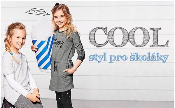 Trendy móda pro větší děti