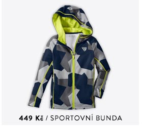 Chlapecká sportovní bunda