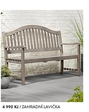 Zahradní lavička dřevěná