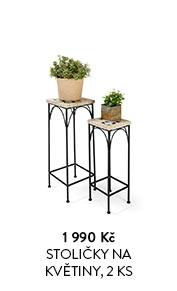 Stoličky na květiny, 2 ks