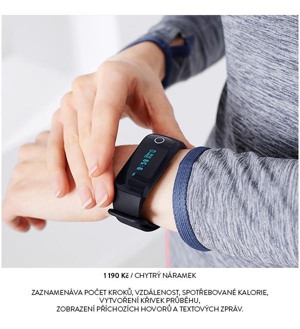 Chytrý náramek Activity Tracker s Bluetooth® a měřičem pulzu