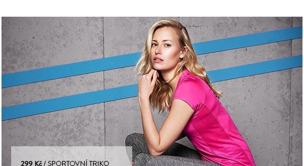 Sportovní tričko růžové