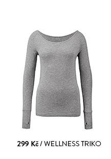 Wellness triko šedé