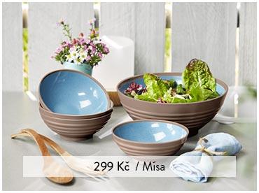 Mísa na salát nebo misky na salát, 4 ks