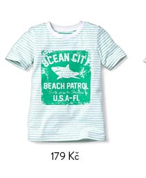 Tričko dětské pruhované