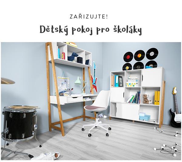 Prohlédněte si pozorně celou kolekci, aby vám neunikl stylový nábytek do dětského pokoje