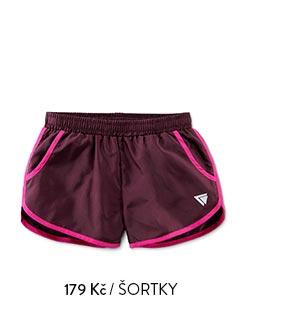 Dívčí sportovní šortky