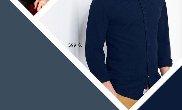 Piké košile s límcem typu kent