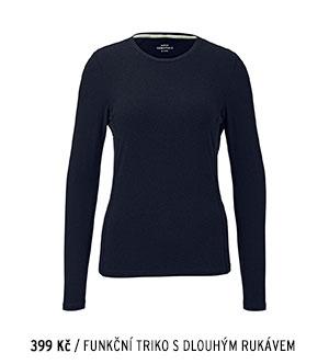 Funkční triko s dlouhým rukávem