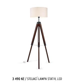 Stojací lampa Stativ, LED