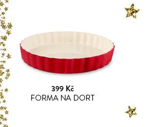 Keramická forma na dort