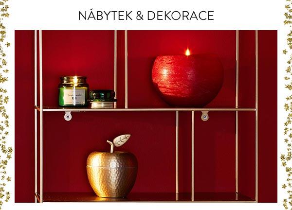 Nábytek a dekorace - připravte domov na svátky