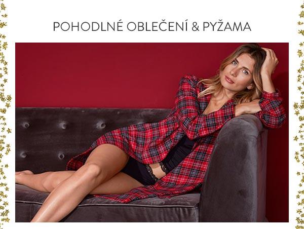 Připravte domov na svátky - pohodlné pyžama a oblečení