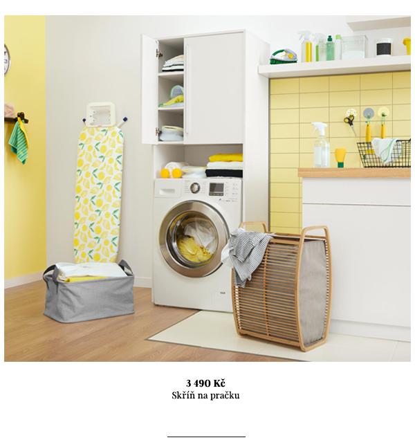 Skříň na pračku