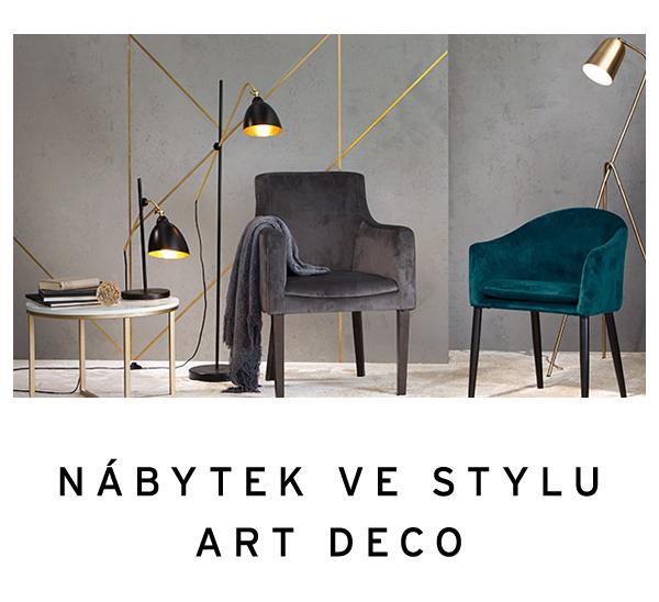 Nábytek de luxe ve stylu art deco