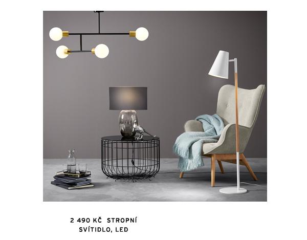 Stropní svítidlo Koule, LED