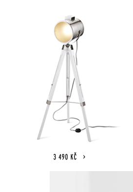 Stojací lampa bodová, LED