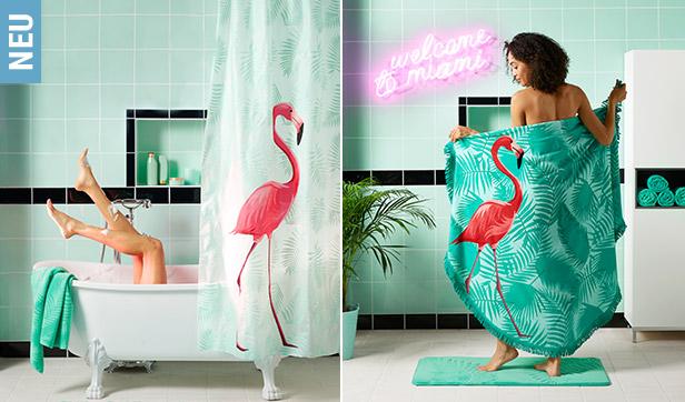 palmen flamingos sonne satt tschibo gutscheine deals. Black Bedroom Furniture Sets. Home Design Ideas