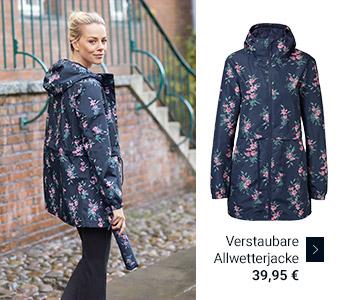 Verstaubare Allwetterjacke 39,95 €